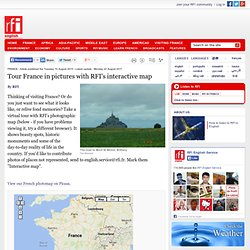 Tour France in pictures with RFI's interactive map