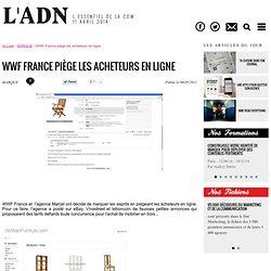 Budget - WWF France piège les acheteurs en ligne