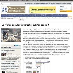 La France populaire décroche, qui s'en soucie?