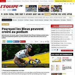 Tour de France - Pourquoi les Bleus peuvent croire au podium