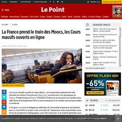 La France prend le train des Moocs, les Cours massifs ouverts en ligne