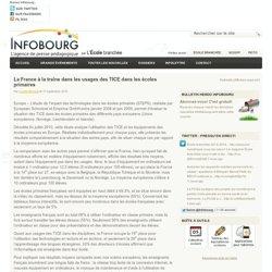 La France à la traîne dans les usages des TICE dans les écoles primaires
