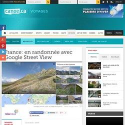 France: en randonnée avec Google Street View