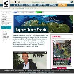 Rapport Planète Vivante 2014
