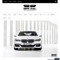 BMW France fait état d'un record historique de ventes en 2015