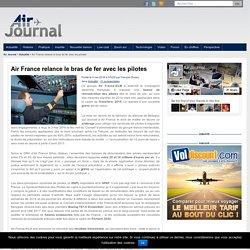 Air France relance le bras de fer avec les pilotes