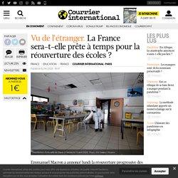 La France sera-t-elle prête à temps pour la réouverture des écoles?