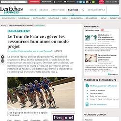Tour de France : gérer les ressources humaines en mode projet