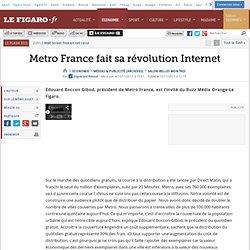 Médias & Publicité : Edouard Boccon-Gibod, invité du Buzz Média