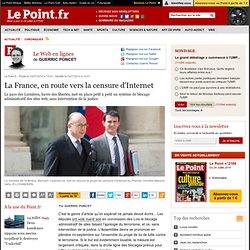 La France, en route vers la censure d'Internet