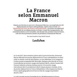 La France selon Emmanuel Macron