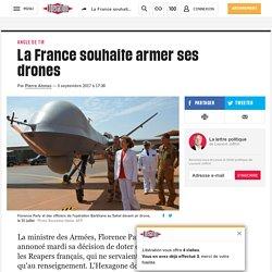 La France souhaite armer ses drones