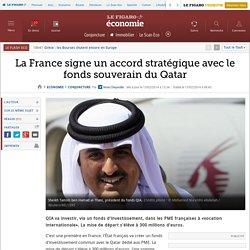 La France signe un accord stratégique avec le fonds souverain du Qatar