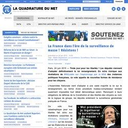 La France dans l'ère de la surveillance de masse ! Résistons