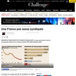 Une France pas assez syndiquée - 2 décembre 2011