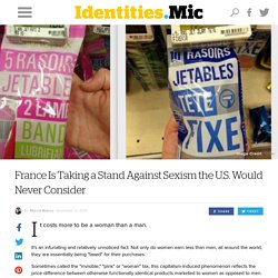 France Is Taking a Stand Against Sexism the U.S. Would Never Consider