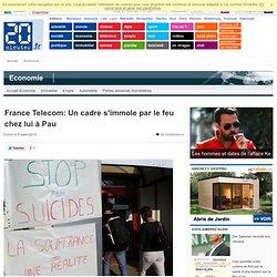 France Telecom: Un cadre s'immole par le feu chez lui à Pau