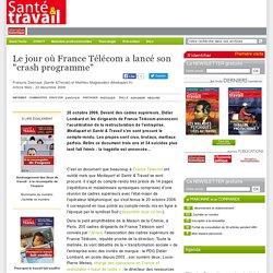 """Le jour où France Télécom a lancé son """"crash programme"""""""