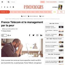 France Télécom et le management par la peur