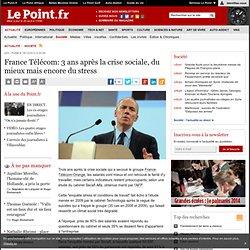 France Télécom: 3 ans après la crise sociale, du mieux mais encore du stress