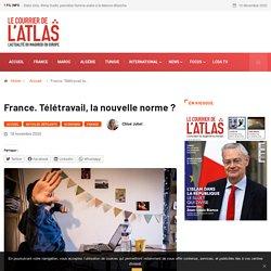 France. Télétravail, la nouvelle norme?