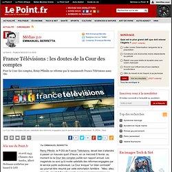 France Télévisions : les doutes de la Cour des comptes