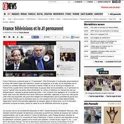 France Télévisions et le JT permanent