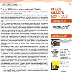 France Télévisions lance son guide Twitter