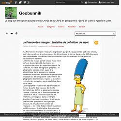 La France des marges : tentative de définition du sujet