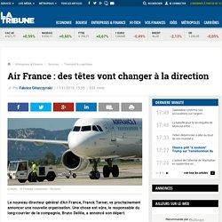 Air France : des têtes vont changer à la direction