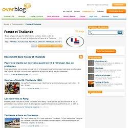 France et Thailande sur OverBlog