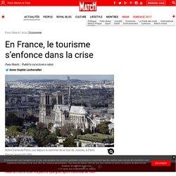 En France, le tourisme s'enfonce dans la crise