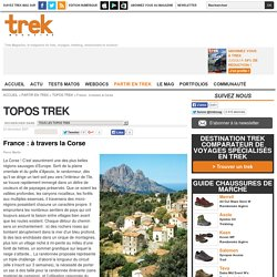 France : à travers la Corse : Topos Trek