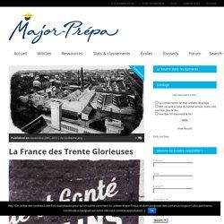 La France des Trente Glorieuses - Major-Prépa