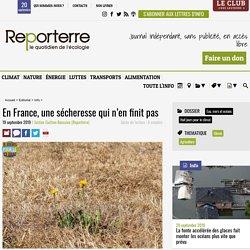 En France, une sécheresse qui n'en finit pas