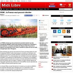 OGM : la France veut pouvoir décider