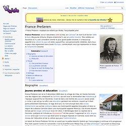France Prešeren