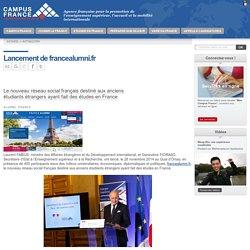 Lancement de francealumni.fr