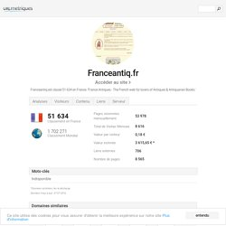 www.Franceantiq.fr - France Antiques