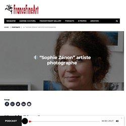 """- Portraits - """"Sophie Zénon"""" artiste photographe"""
