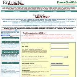 Entraide, un service de FranceGenWeb