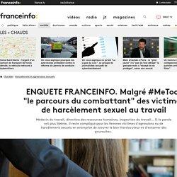 """ENQUETE FRANCEINFO. Malgré #MeToo, """"le parcours du combattant"""" des victimes de harcèlement sexuel au travail"""