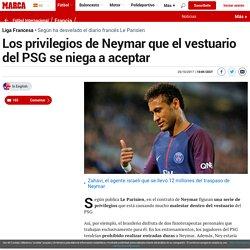 Liga Francesa: Los privilegios de Neymar que el vestuario del PSG se niega a aceptar