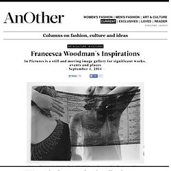 Francesca Woodman's Inspirations