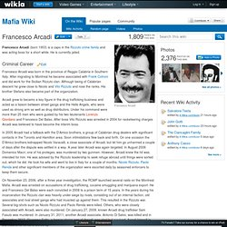 Francesco Arcadi - Mafia Wiki