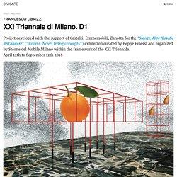 Francesco Librizzi · XXI Triennale di Milano. D1