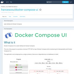 francescou/docker-compose-ui - Docker Hub