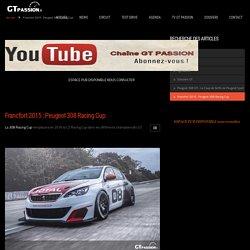 Francfort 2015 : Peugeot 308 Racing Cup