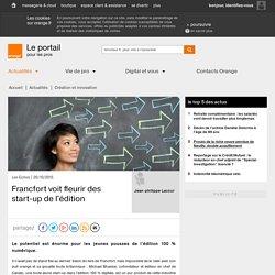 Francfort voit fleurir des start-up de l'édition