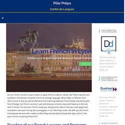 French courses Lyon